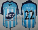 Racing Club - 2001 AP - Home - Topper - Sky - 19na Fecha vs Velez Sarsfield - C. Estevez