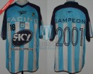 Racing Club - 2001 AM - Home - Topper - Sky - Amistoso vs Guarani - M. Vitali