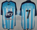 Racing Club - 2001 AP - Home - Topper - Sky - Campeon Torneo Apertura - A. Bastia