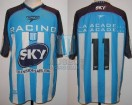 Racing Club - 2001 AP - Home - Topper - Sky - 8va Fecha vs San Lorenzo - D. Milito