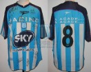 Racing Club - 2001 AP - Home - Topper - Sky - 18va Fecha vs Lanus - G. Barros Schelotto
