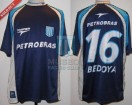 Racing Club - 2003 CL - Away - Topper - Petrobras - G. Bedoya