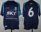 Racing Club - 2002 TV - Away - Topper - Sky - Copa Interprovincial vs Independiente - C. Ubeda
