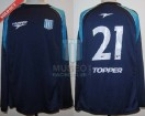 Racing Club - 2002 AP - Away - Topper - 2da Fecha vs Arsenal - G. Belloso
