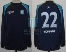 Racing Club - 2002 AP - Away - Topper - 2da Fecha vs Arsenal (PT) - C. Estevez