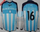 Racing Club - 2002 AP - Home - Topper - 1ra Fecha vs Huracan - G. Bedoya