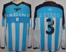 Racing Club - 2002 AP - Home - Topper - 1ra Fecha vs Huracan - G. Rivarola