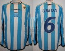 Racing Club - 2002 SUD - Home - Topper - R16 Copa Sudamericana IDA vs River Plate - C. Ubeda