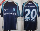 Racing Club - 2003 CL - Away - Topper - Petrobras - A. Orozco