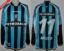 Racing Club - 2003 CL - Away - Topper - Petrobras - 16ta Fecha vs Velez - D. Milito