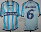 Racing Club - 2003 AP - Home - Topper - Petrobras - 7ma Fecha vs Chacarita Jrs. - C. Ubeda