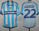 Racing Club - 2003 AP - Home - Topper - Petrobras - 15ta Fecha vs Independiente - C. Estevez