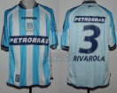 Racing Club - 2003 CL - Home - Topper - Petrobras - 19na Fecha vs River Plate - G. Rivarola