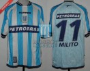 Racing Club - 2003 CL - Home - Topper - Petrobras - D. Milito
