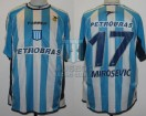 Racing Club - 2003 LIB - Home - Topper - Petrobras - 1ra Fase vs Universitario Peru - M. Mirosevic