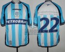 Racing Club - 2003 AM - Home - Topper - Petrobras - Copa Desafio Petrobras vs Flamengo - C. Estevez