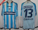 Racing Club - 2003 CL - Home - Topper - Petrobras - 15ta Fecha vs Newell's - E. Ceballos