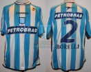 Racing Club - 2003 AM - Home - Topper - Petrobras - Centenario - J. Borelli