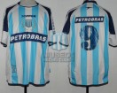 Racing Club - 2004 AP - Home - Topper - Petrobras - 15ta Fecha vs Almagro - S. Romero