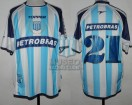 Racing Club - 2004 CL - Home - Topper - Petrobras - 7ma Fecha vs Chacarita Jrs. - H. Pinola