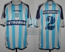 Racing Club - 2004 CL - Home - Topper - Petrobras - 9na Fecha vs Lanus - C. Grabinski