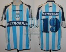 Racing Club - 2004 CL - Home - Topper - Petrobras - 8va Fecha vs Banfield - M. Gonzalez