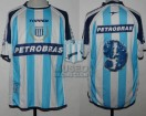 Racing Club - 2005 CL - Home - Topper - Petrobras - 2da Fecha vs Olimpo - S. Romero