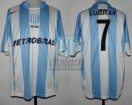 Racing Club - 2006 CL - Home - Nike - Petrobras - 5ta Fecha vs Estudiantes LP - R. Estevez
