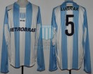 Racing Club - 2006 CL - Home - Nike - Petrobras - 18va Fecha vs River Plate - J. Torres
