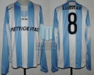 Racing Club - 2006 CL - Home - Nike - Petrobras - 18va Fecha vs River Plate - A. Bastia