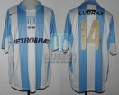 Racing Club - 2006 TV - Home - Nike - Petrobras - Torneo de Verano vs San Lorenzo - D. Simeone