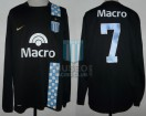Racing Club - 2007 AP - Away - Nike - Banco Macro - 2da Fecha vs Banfield - A. Bastia