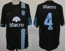 Racing Club - 2007 CL - Away - Nike - Banco Macro - 2da Fecha vs Velez - M. Sanchez