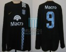 Racing Club - 2007 AP - Away - Nike - Banco Macro - F. Sava