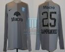 Racing Club - 2007 CL - GK Gris - Nike - Banco Macro - G. Campagnuolo