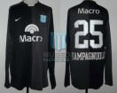 Racing Club - 2007 CL - GK Negro - Nike - Banco Macro - G. Campagnuolo