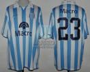 Racing Club - 2007 AP - Home - Nike - Banco Macro - 14ta Fecha vs Argentinos Jrs. - C. Pellerano