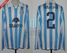 Racing Club - 2007 AP - Home - Nike - Banco Macro - 5ta vs San Lorenzo - M. Caceres
