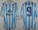Racing Club - 2007 CL - Home - Nike - Banco Macro - Torneo Clausura - F. Sava
