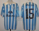 Racing Club - 2007 CL - Home - Nike - Banco Macro - 7ma Fecha vs Arsenal - M. Romagnoli