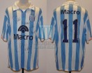 Racing Club - 2007 AP - Home - Nike - Banco Macro - 17ma Fecha vs Independiente - C. Lopez
