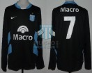 Racing Club - 2008 CL - Away - Nike - Banco Macro - 16ta Fecha vs GELP - A. Bastia