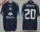 Racing Club - 2008 AP - Away - Penalty - Banco Macro - 7ma vs Estudiantes LP - L. Gonzalez