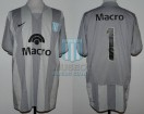 Racing Club - 2008 CL - GK - Nike - Banco Macro - 12da Fecha vs Tigre - H. Navarro