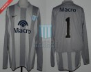 Racing Club - 2008 CL - GK Gris - Nike - Banco Macro - H. Navarro