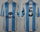 Racing Club - 2008 AP - Home - Nike - Banco Macro - 3ra Fecha vs Independiente - C. Yacob
