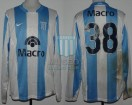 Racing Club - 2008 PM - Home - Nike - Banco Macro - Promocion Ida vs Belgrano Cba. - J. Shaffer