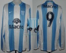 Racing Club - 2008 CL - Home - Nike - Banco Macro - 17ma Fecha vs Independiente - F. Sava