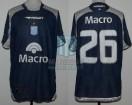 Racing Club - 2009 CL - Away - Banco Macro - 2da vs Huracan - L. Castroman