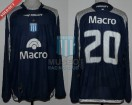 Racing Club - 2009 CL - Away - Penalty - Banco Macro - 14ta vs San Martin Tuc. - L. Gonzalez